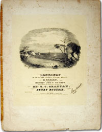 cover of sheet music, Stars and Stripes Forever
